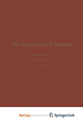 9781461324225: The Socialization of Emotions