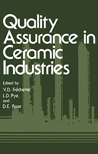 Quality Assurance in Ceramic Industries: Springer