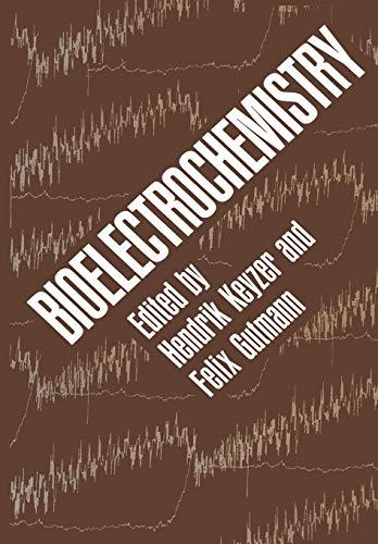 Bioelectrochemistry: Pasadena United States-Australia Joint Seminar on Bioelectrochem