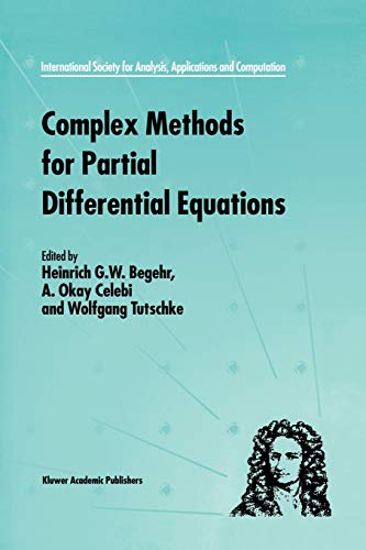 9781461332930: Complex Methods for Partial Differential Equations (International Society for Analysis, Applications and Computation)