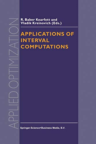 Applications of Interval Computations (Applied Optimization): Springer