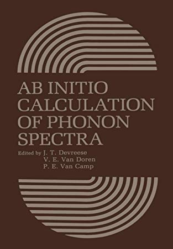 AB Initio Calculation of Phonon Spectra: J. T. Devreese