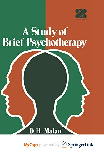 9781461343967: A Study of Brief Psychotherapy