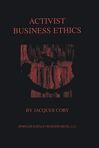 9781461346647: Activist Business Ethics