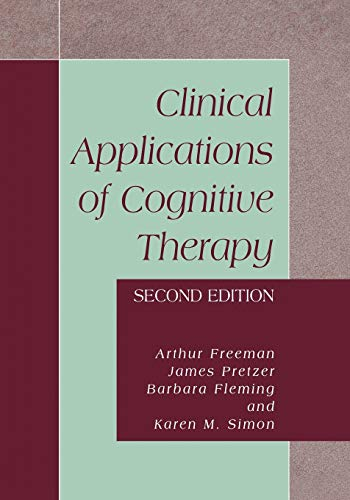 9781461347149: Clinical Applications of Cognitive Therapy