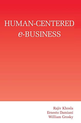 9781461350804: Human-Centered e-Business