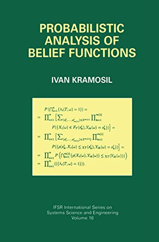 9781461351450: Probabilistic Analysis of Belief Functions (IFSR International Series in Systems Science and Systems Engineering)