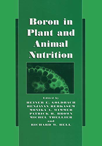 9781461351559: Boron in Plant and Animal Nutrition