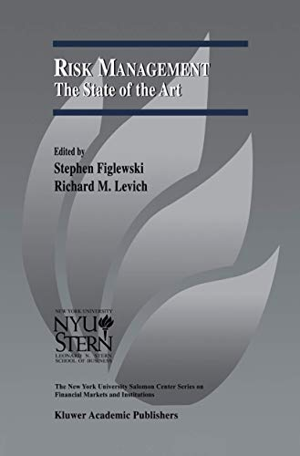 9781461352419: Risk Management: The State of the Art (The New York University Salomon Center Series on Financial Markets and Institutions)