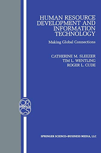 9781461352587: Human Resource Development and Information Technology: Making Global Connections (Operations Research/Computer Science Interfaces Series)