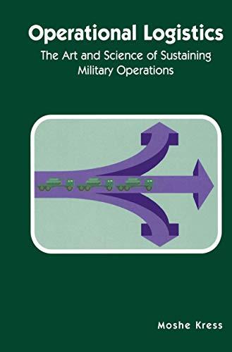 9781461353874: Operational Logistics