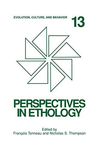 9781461354475: Perspectives in Ethology: Evolution, Culture, and Behavior (Volume 13)