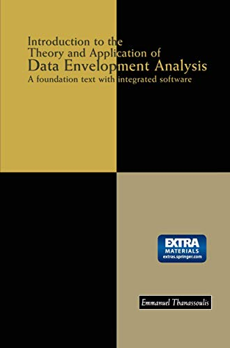 9781461355380: Introduction to the Theory and Application of Data Envelopment Analysis: A Foundation Text with Integrated Software