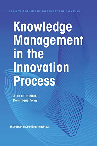 9781461356028: Knowledge Management in the Innovation Process (Economics of Science, Technology and Innovation)