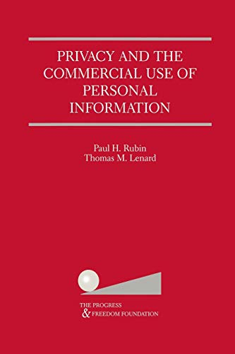 9781461356943: Privacy and the Commercial Use of Personal Information