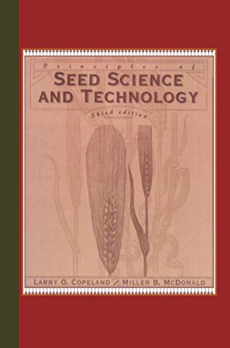 9781461357193: Principles of Seed Science and Technology