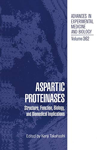 9781461357612: Aspartic Proteinases: Structure, Function, Biology, and Biomedical Implications