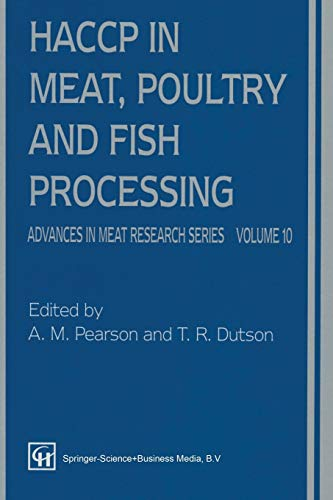 9781461358985: HACCP in Meat, Poultry, and Fish Processing (Advances in Meat Research)