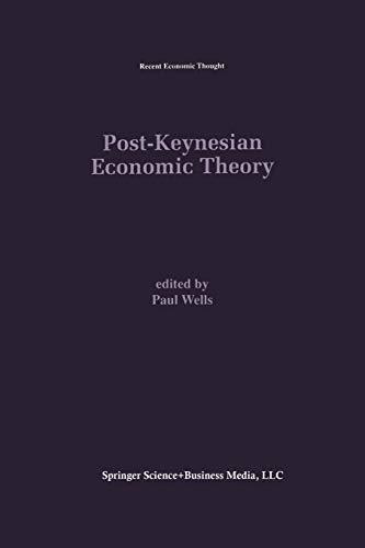 9781461359876: Post-Keynesian Economic Theory (Recent Economic Thought)