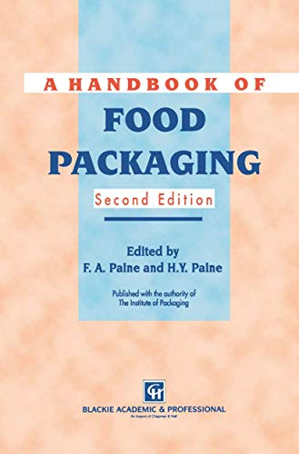 9781461362142: A Handbook of Food Packaging
