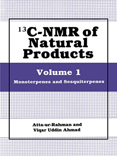 13C-NMR of Natural Products: Monoterpenes and Sesquiterpenes
