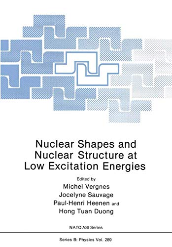 9781461364733: Nuclear Shapes and Nuclear Structure at Low Excitation Energies (Nato Science Series B:)