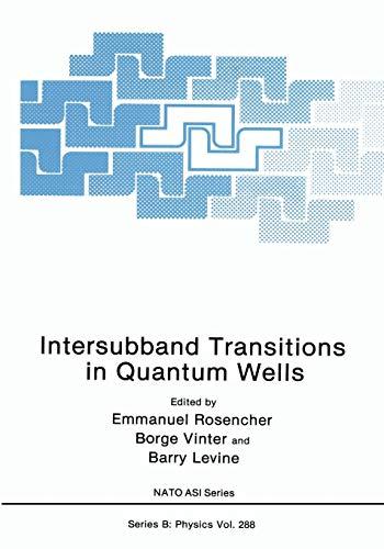 9781461364757: Intersubband Transitions in Quantum Wells (Nato Science Series B:)