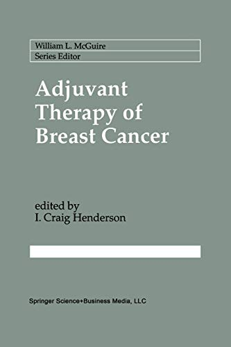 9781461365501: Adjuvant Therapy of Breast Cancer (Cancer Treatment and Research)