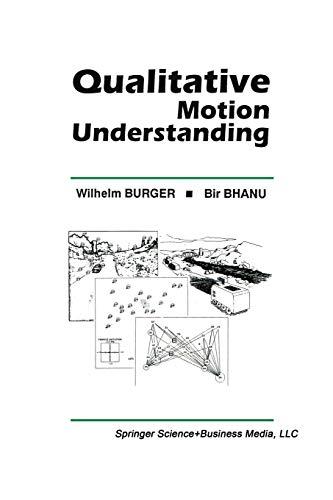 Qualitative Motion Understanding: Bir Bhanu