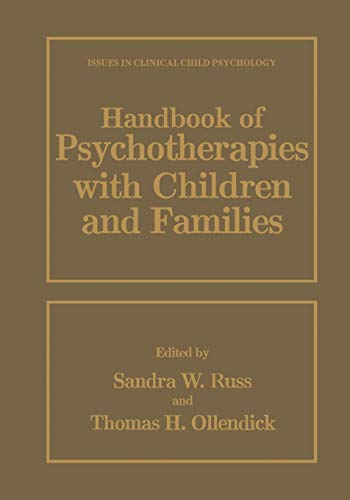 Handbook of Psychotherapies with Children and Families (Hardcover)