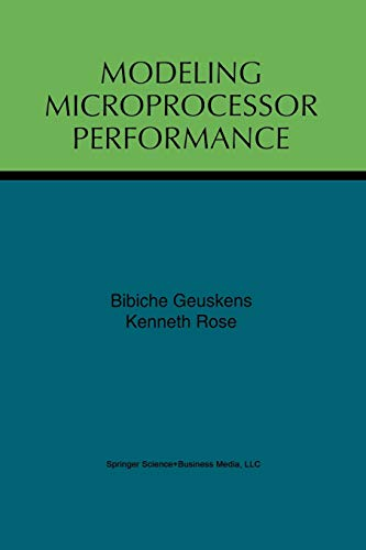9781461375432: Modeling Microprocessor Performance