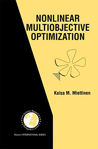 9781461375449: Nonlinear Multiobjective Optimization (International Series in Operations Research & Management Science)
