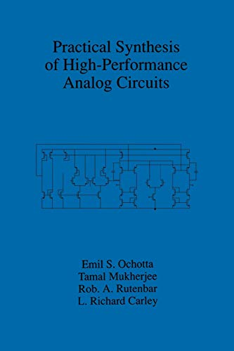 9781461375456: Practical Synthesis of High-Performance Analog Circuits