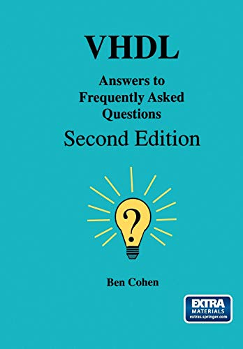 VHDL Answers to Frequently Asked Questions: Ben Cohen