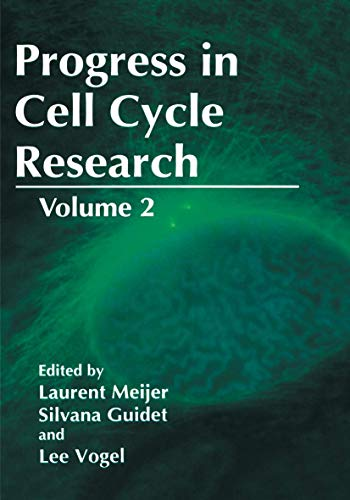 Progress in Cell Cycle Research: Volume 2: Laurent Meijer (Editor),