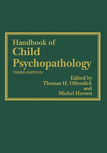 9781461377092: Handbook of Child Psychopathology
