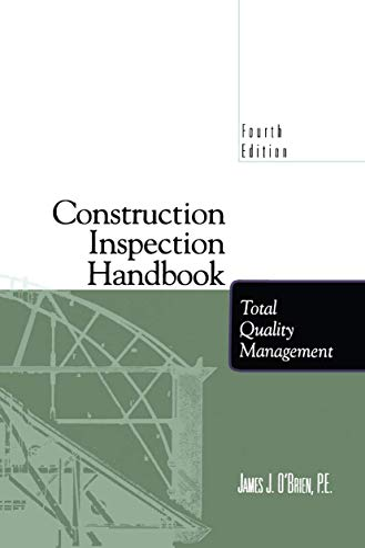 9781461377573: Construction Inspection Handbook: Total Quality Management