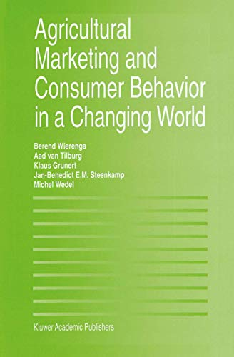9781461378792: Agricultural Marketing and Consumer Behavior in a Changing World