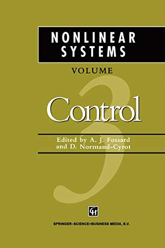 9781461379386: Nonlinear Systems: Control 3