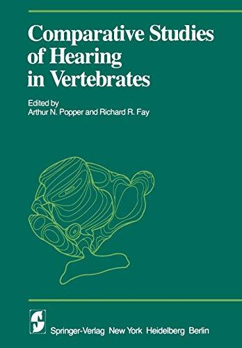 9781461380764: Comparative Studies of Hearing in Vertebrates (Proceedings in Life Sciences)
