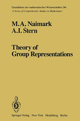 9781461381440: Theory of Group Representations (Grundlehren der mathematischen Wissenschaften)
