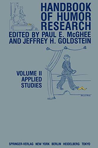 9781461382386: Handbook of Humor Research: Volume II: Applied Studies