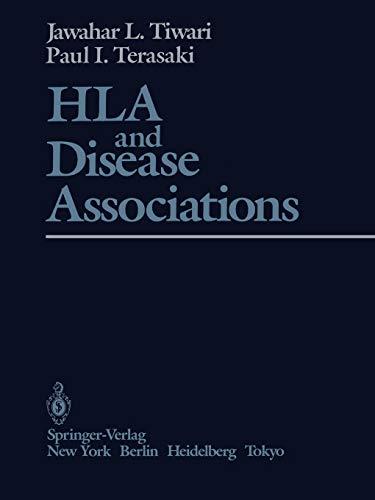 HLA and Disease Associations (Paperback): Jawahar L. Tiwari,