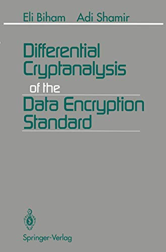 9781461393160: Differential Cryptanalysis of the Data Encryption Standard