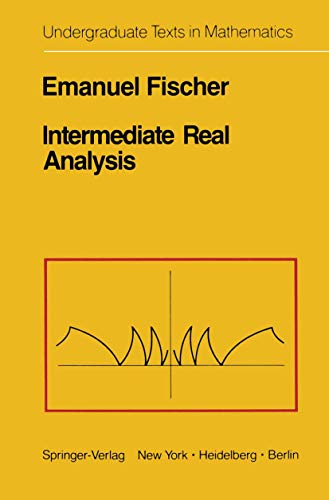 9781461394839: Intermediate Real Analysis (Undergraduate Texts in Mathematics)