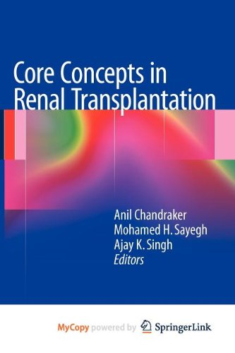 9781461400097: Core Concepts in Renal Transplantation
