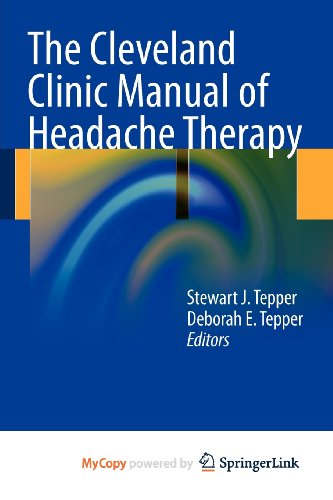 9781461401803: The Cleveland Clinic Manual of Headache Therapy