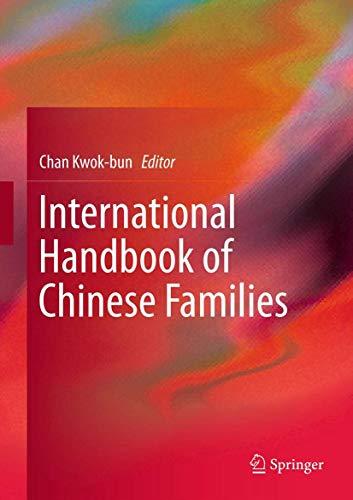International Handbook of Chinese Families: Chan Kwok-bun