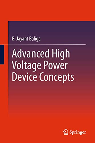 9781461402688: Advanced High Voltage Power Device Concepts