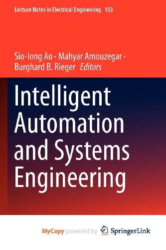 9781461403746: Intelligent Automation and Systems Engineering